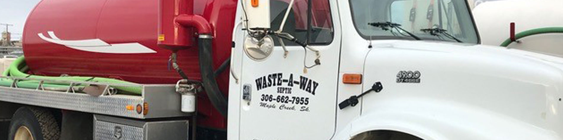 Wate-A-Way Septic truck